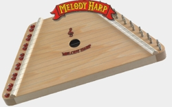 The Melody Harp is known for its renowned quality hardwood construction